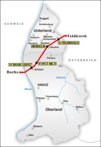 Rathaidean-iarainn Liechtenstein
