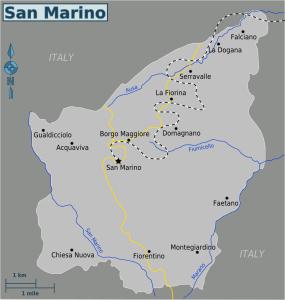 Seann rathadiiarainn San Marino