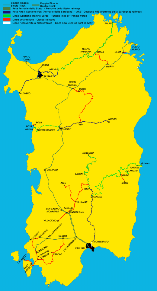 Rathad-iariann Sardinia