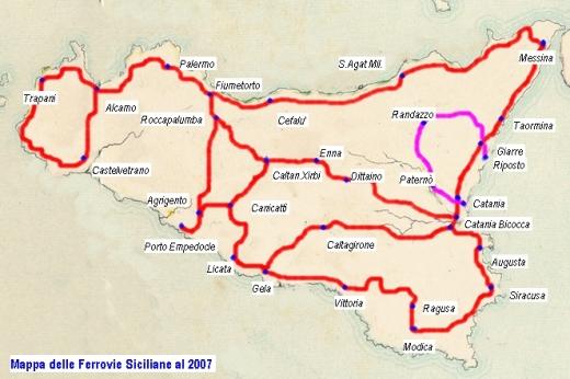 Rathad-iarainn Sicily