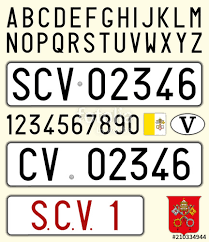 holy see number pate